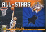 Grant Hill Unsigned 2000 Topps Jersey Card