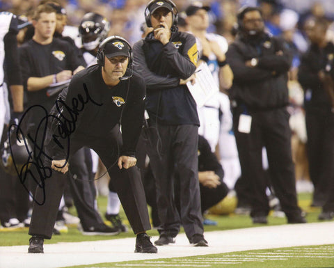 Gus Bradley Autographed 8x10 Photo
