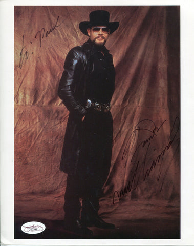 Hank Williams Jr Signed 8x10 Photo JSA