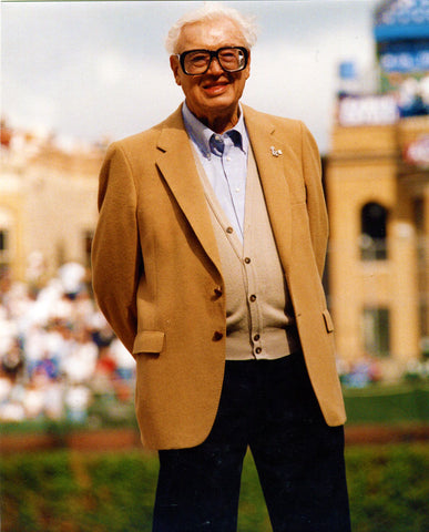 Harry Caray Unsigned 8x10 Photo