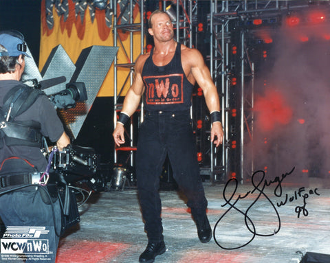 Lex Luger Autographed 8x10 Photo