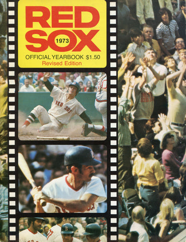 Boston Red Sox 1973 Yearbook