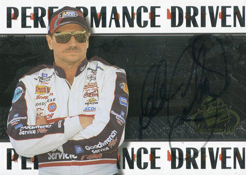 Dale Earnhardt Autographed 2000 Press Pass Racing Card