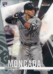 Yoan Moncada 2017 Topps Finest Rookie Card