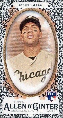 Yoan Moncada 2017 Topps Allen & Ginter Rookie Card