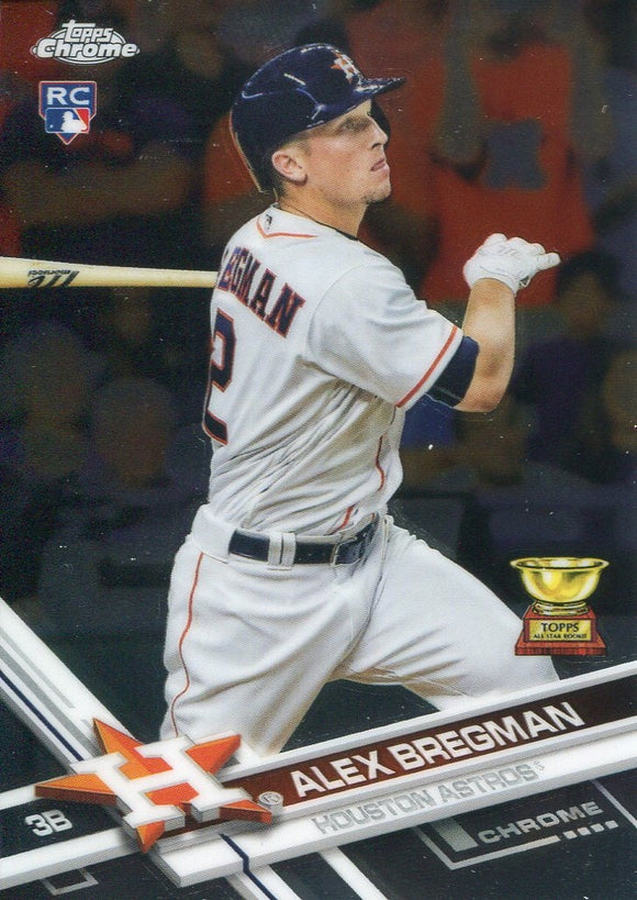 Alex Bregman 2017 Topps Chrome Rookie Card