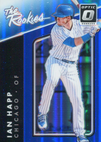 Ian Happ 2017 Donruss Optic Refractor The Rookies Card