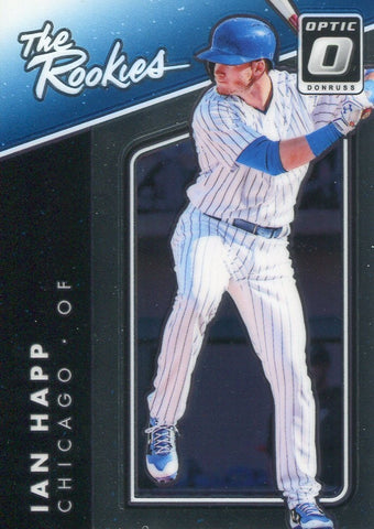 Ian Happ 2017 Donruss Optic The Rookies Card