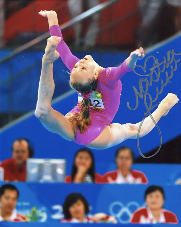 Nastia Liukin Autographed 8x10 Photo