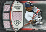 Hanley Ramirez 2017 Topps Museum Collection Quad Relic Jersey Card