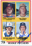 Jack Morris Autographed 1978 Topps Rookie Pitchers Card