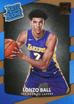 Lonzo Ball 2017 Donruss Rated Rookie Card