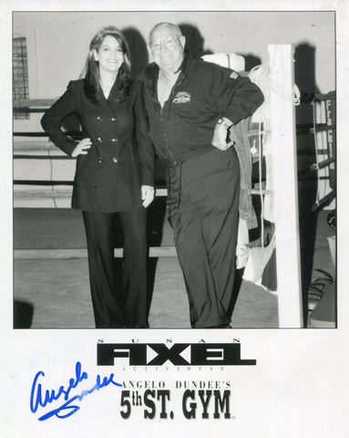 Angelo Dundee Autographed  8x10 Photo