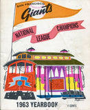 San Francisco Giants 1963 Yearbook