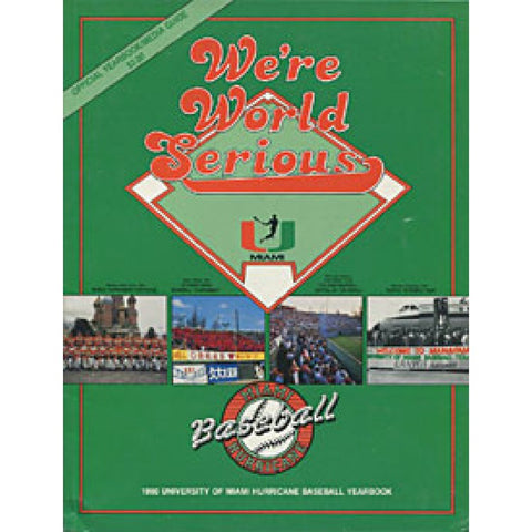 Miami Hurricanes 1990 Official Baseball Yearbook