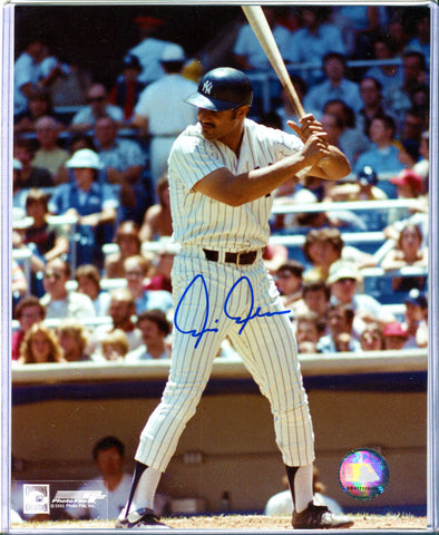 Chris Chambliss Autographed 8x10