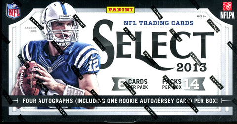 Panini Select 2013 Hobby Box Wax