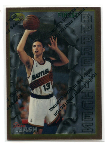 Steve Nash 1996 Topps Finest Apprentices #75 Card