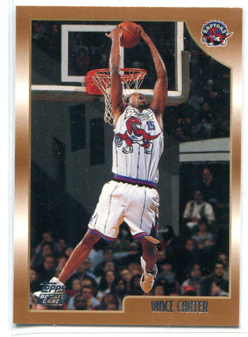 Vince Carter 1999 Topps Rookie #199 Card