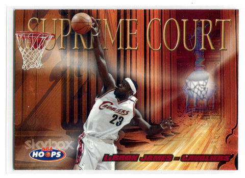 Lebron James 2004-05 Fleer Supreme Court #2 Card