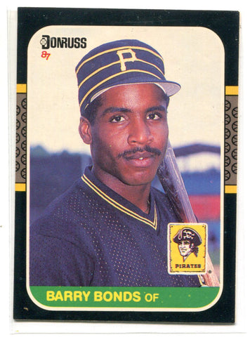 Barry Bonds 1987 Donruss Rookie #361 Card