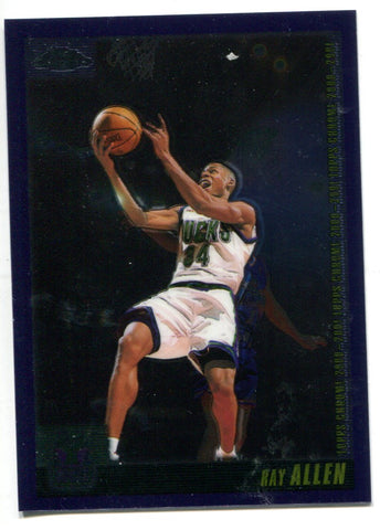 Ray Allen 2000 Topps Chrome #TCP15 Card