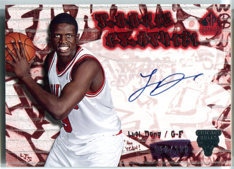 Luol Deng Autographed 2005 Upper Deck Sp Rookie Card