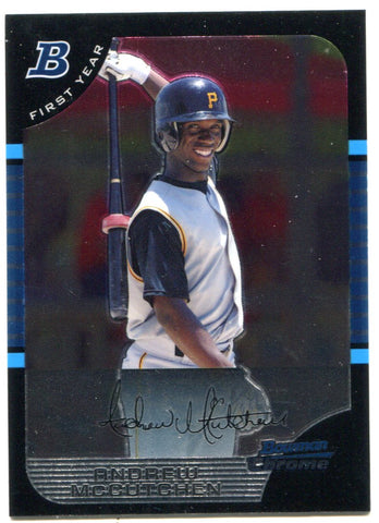 Andrew McCutchen 2005 Bowman Chrome Rookie Card