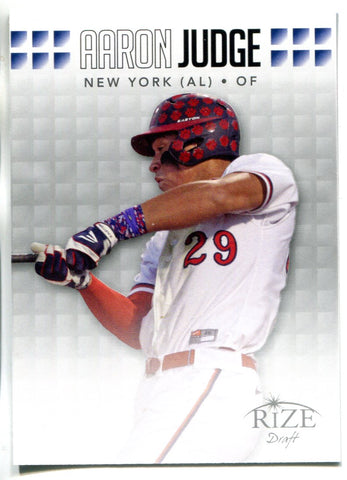 Aaron Judge 2013 Leaf Rize Draft Rookie Card