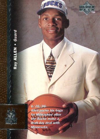 Ray Allen Upper Deck Rookie Card