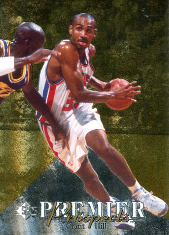 Grant Hill Upper Deck Rookie Card