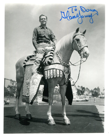 Alan Young Autographed 8x10 Photo