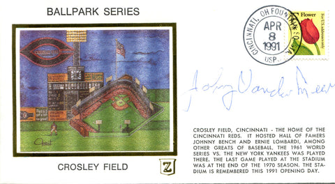 Johnny Vandermeer Autographed April 8 1991 First Day Cover
