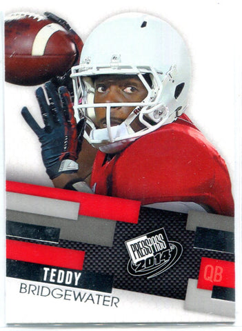 Teddy Bridgewater 2014 Press Pass Unsigned Rookie Card