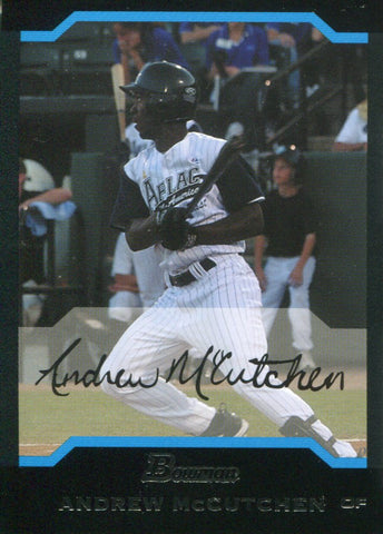Andrew McCutchen 2005 Bowman Draft All-American Rookie Card