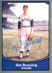 Jim Bunning Autographed 1990 Pacific Card