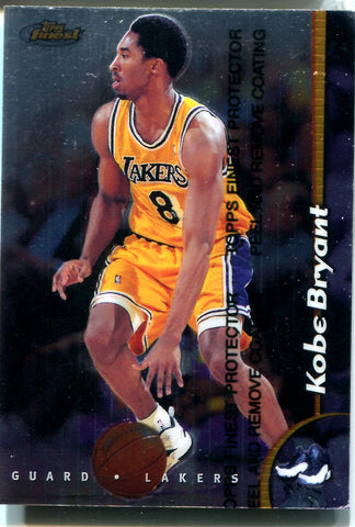 Kobe Bryant 1999 Topps Finest Unsigned Card