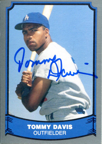 Tommy Davis Autographed 1988 Pacific Card
