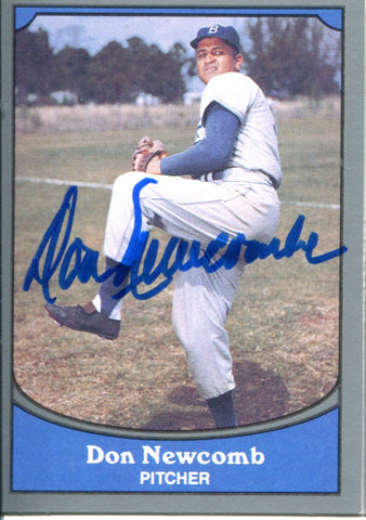 Don Newcombe Autographed 1990 Pacific Card