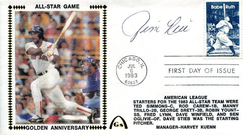 Jim Rice Autographed July 6 1983 First Day Cover