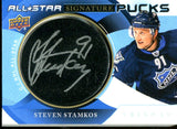 Steven Stamkos 2019 Upper Deck All Star Signatures Puck