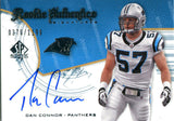 Dan Connor Autographed 2008 Upper Deck Card
