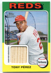 Tony Perez 2011 Topps Heritage Game-Used Memorabilia Unsigned Card