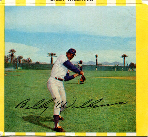 Billy Williams 1969 Kahn Card