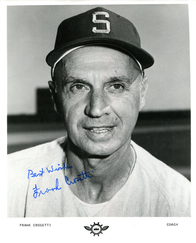 Frank Crosetti Autographed 8x10 Photo