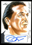 Pat Riley 2013 Leaf Masterworks Hand Drawn & Autographed 1/1 Sketch Card