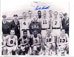 Bill Russell Team USA 1956 Roster Autographed 8x10 Photo (PSA)
