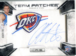 Cole Aldrich 2010 Panini Team Patches Autographed Rookies & Stars Card #327/450