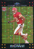 Dwayne Bowe Unsigned 2007 Topps Chrome Xfactor Rookie Card