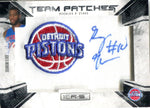 Greg Monroe 2010 Panini Team Patches Autographed Rookies & Stars Card #125/454